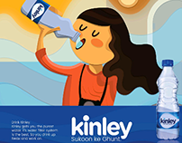 Kinley Ad Campaign