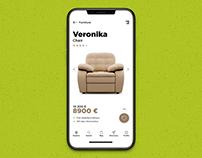Мобильное приложение для мебельного магазина