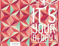 Nestlé Birthday Card Design
