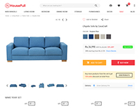 www.housefull.com | sofa product detail page