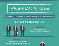 #FueroNoJuicioSí, Law of Hospitality and other events
