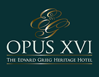 Opus XVI - Logo and visuell identity