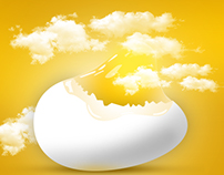egg advertisement