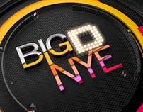 Big D NYE 2013 Concept Boards