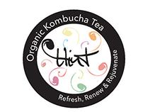 Hint Kombucha Branding