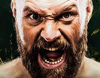 THE GYPSY KING - Tyson Fury Artwork