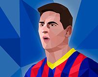 Ilustración - Lionel Messi