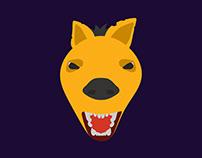 Hyena - Flat 3D