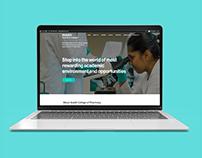 Website Design - Avadh College of Pharmacy