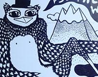 Mural at Postbox