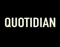 QUOTIDIAN - Short Film