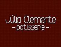 Júlia Clemente Patisserie - Identidade Visual