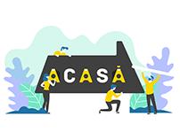 ACASA - Brand identity