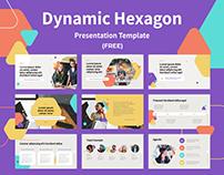 Dynamic Hexagon PPT Template