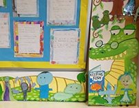 Book Corner Crocodile