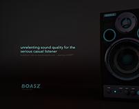 Boasz Speaker Ad