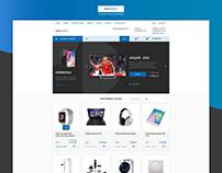 Дизайн интернет магазина техники