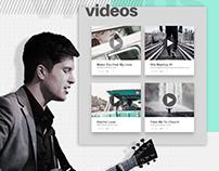 Drew Machak - Branding + Site Design