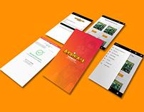 Afrikan Comics Mobile App UI Design