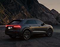 Audi Q8. - Point Mugu