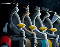 【预售发布】太空鹅联盟系列潮玩6+1