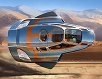 An  suborbital AG. Flier concept art.  2017