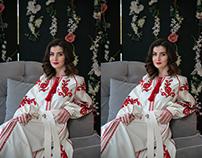 Ретушь фото для интернет-магазина женской одежды