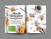 Fibras para emagrecer - Mix fibers to lose weight