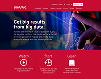 MapR Website Homepage/Landing Refresh