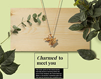 Janet Mavec Jewelry | Brand Development