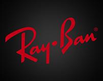 Ray Ban sunglasses landing page
