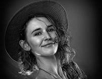 Erin, portraiture