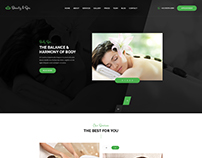 Beauty & Spa - Bootstrap PSD Template