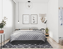 Bedroom Scandinavian
