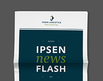 IPSEN LOGISTICS –  Graphic Design