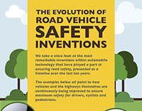 The Evolution of Road Vehicle Safety Inventions