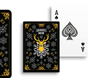Smirnoff Ice Christmas Playing Cards design