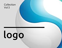 LOGO 5 Gradient effect logo