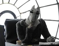 Director and tea