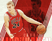 Daily Sports Graphics 001–009 Chicago Bulls