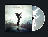 Ashent - Flaws of Elation CD Packaging Design