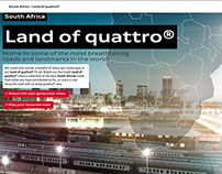 Audi South Africa - Land of quattro®