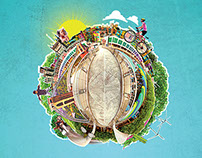 The Big Green Week 2015 - Posters & Programme Design