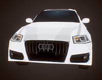 Audi Q3 model for AR