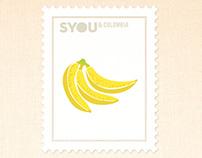 Estampillas/ SYOU&Colombia