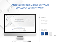 Responsive Web Design for Mobile Developer Company