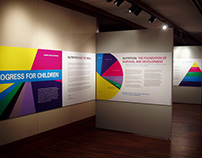 UNICEF Progress for Children Exhibit