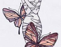 Ilustración Mariposas