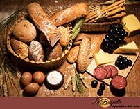 """""""Agradable a toda hora"""" - La Baguette afiche."""