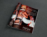 Anúncio revista impressa Restaurante Abade